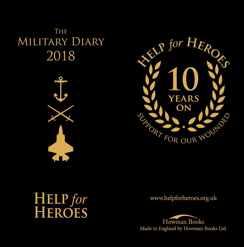 Help for Heroes Diary 2018