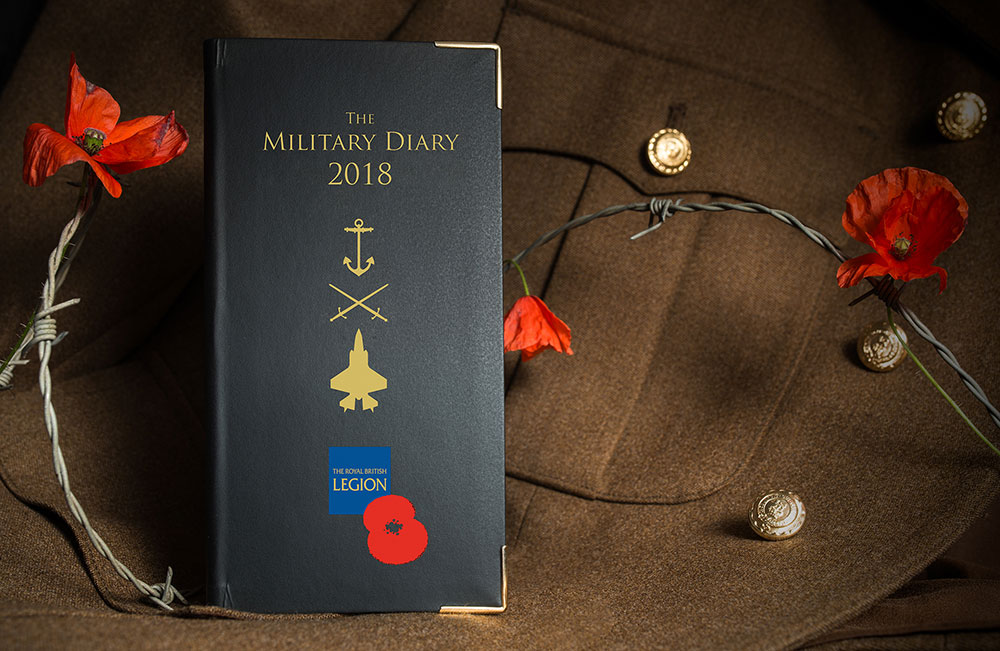 Royal British Legion Diary 2018-RBL