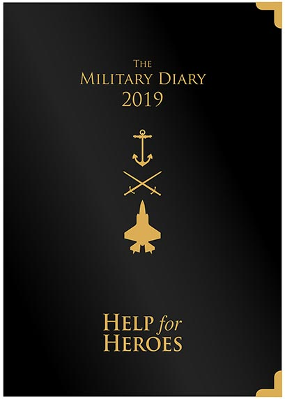 Help for Heroes 2019 Desk Diary