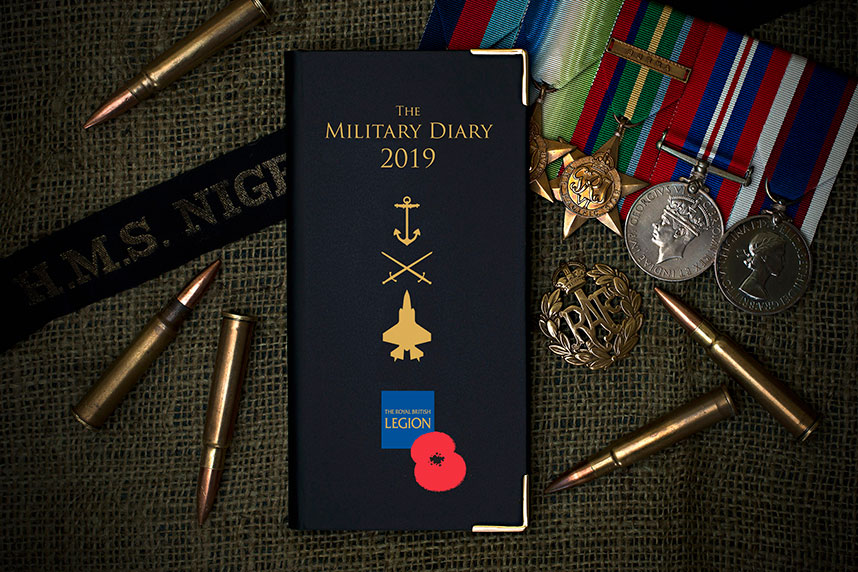 Royal British Legion- Pocket Diary 2019