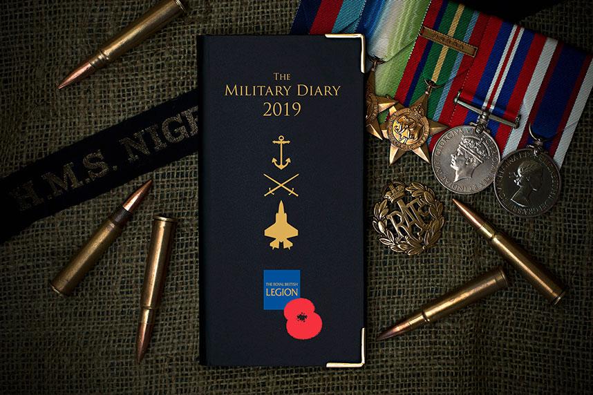 Royal British Legion- Pocket Diary 2019