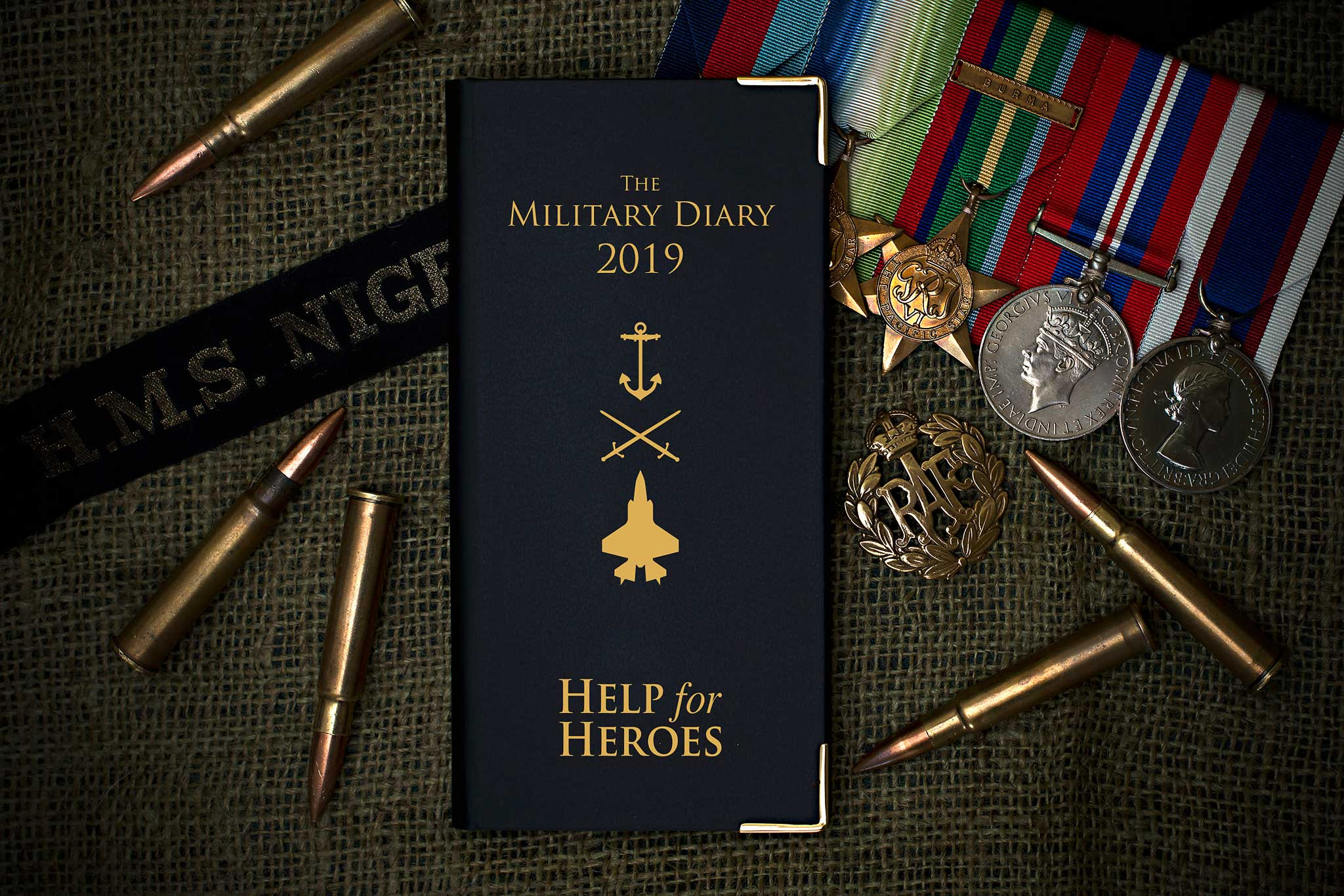Help for Heroes Diary 2019 - Pocket Diary