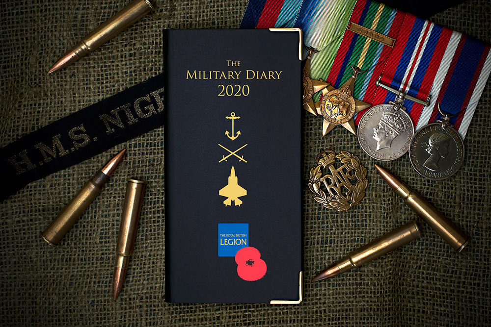 Royal British Legion Diary 2020