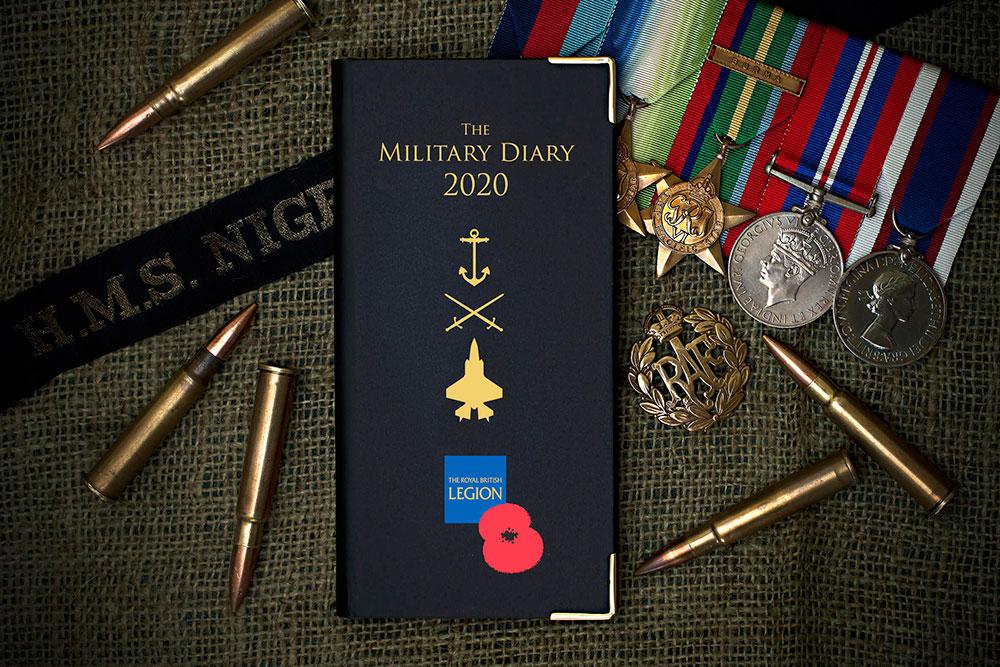 Royal British Legion Diary 2020
