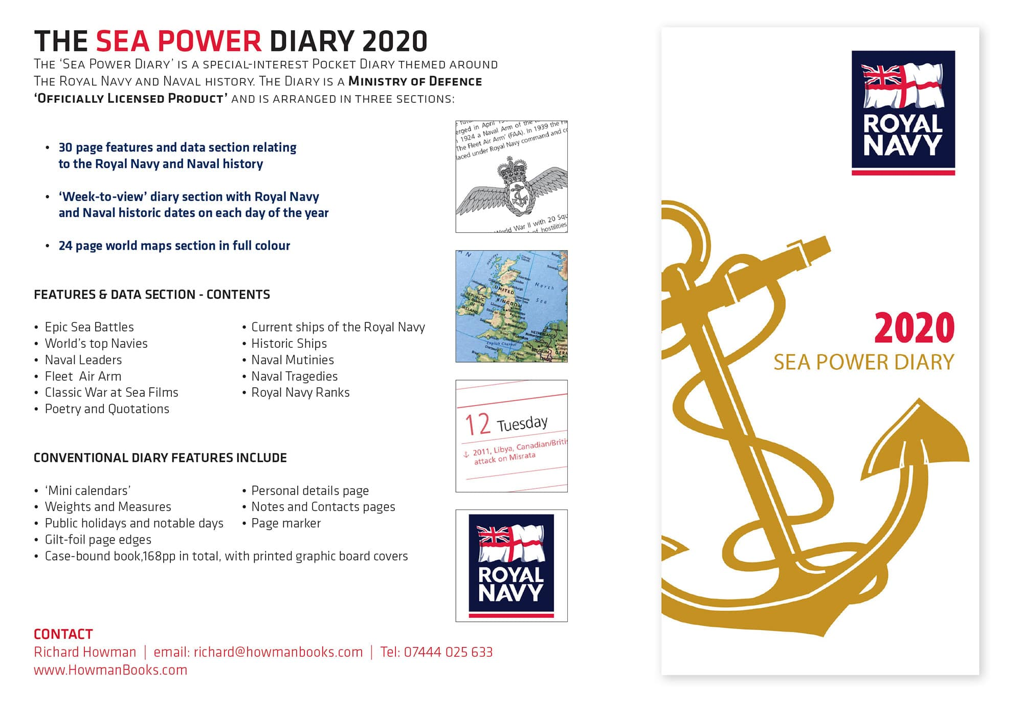 Royal Navy Diary 2020 - Sea Power Diary