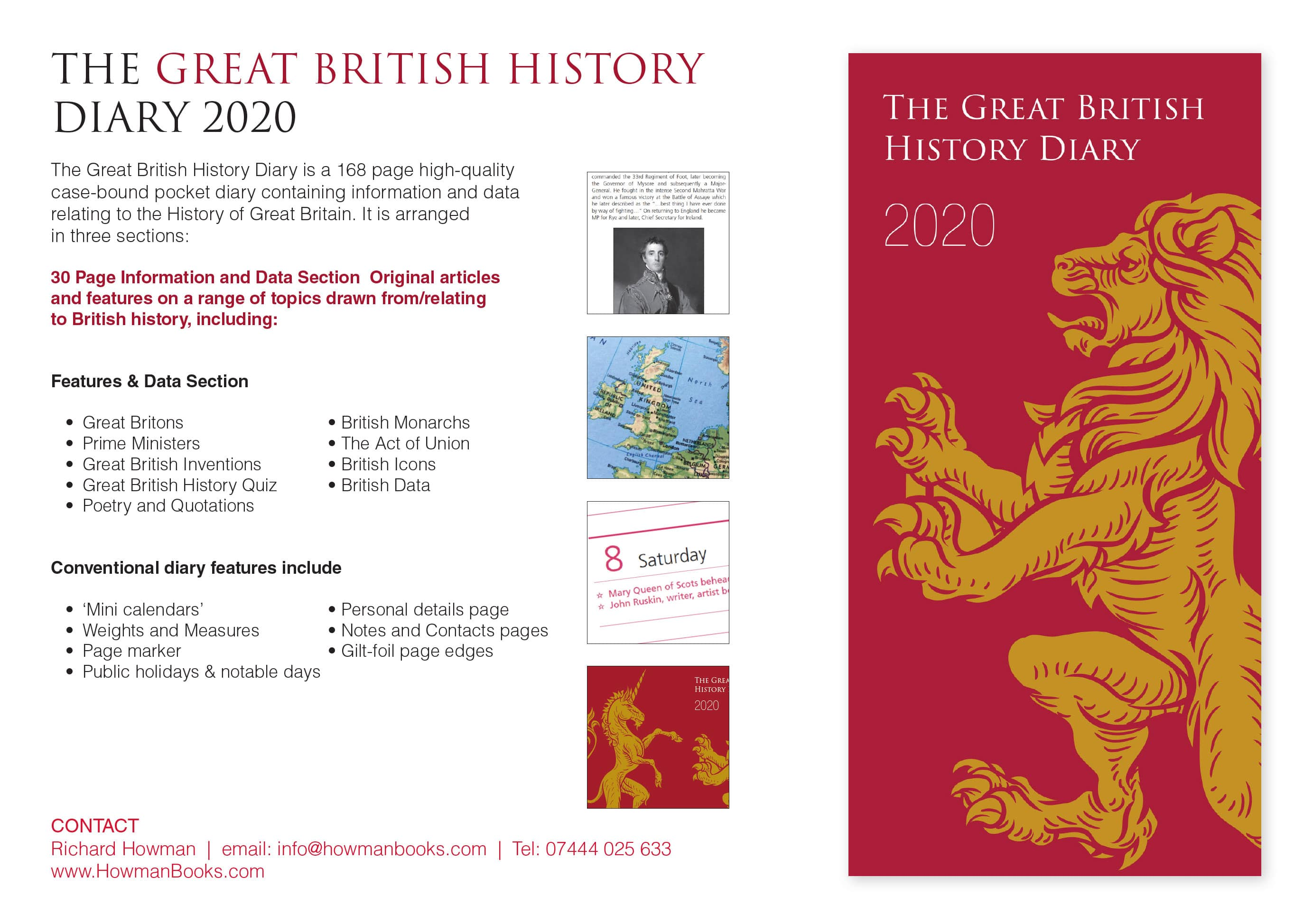 The Great British History Diary 2020